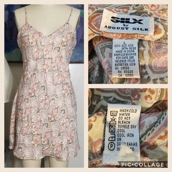 73968b954b558 Silk Boho Printed Bias Cut Mini Slip Dress. M_5b579eb412cd4ab5af291ca8